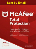 Mcafee Total Protection 2020 + VPN Unlimited Device 1 Year Antivirus Download