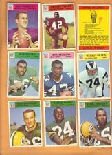 115/198 Diff 1966 Philadelphia Football Lot Mainly EXMT+ Great Starter Lot