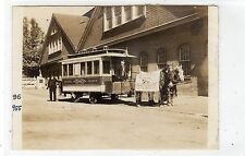 Photograph of Baltimore & Potomac R R Station horse drawn tram (C24197)