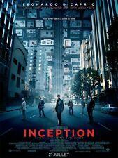 INCEPTION Affiche Cinéma Originale 160x120 Movie Poster LEONARDO DICAPRIO