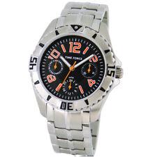 TIME FORCE TF-4136B12M  RELOJ CADETE MULTIFUNCION ACERO 50M