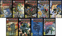 Rogue Trooper Final Warrior Full Comic Set 1 2 3 4 5 6 7 8 9 Lot Fleetway SQP