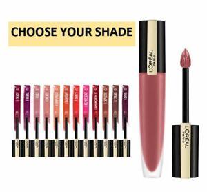 L'Oreal Rouge Signature Matte Liquid Lipstick Lightweight CHOOSE SHADE