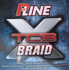 P-Line XTCB Teflon Coated Braid Fishing Line Green 300 Yards 80#