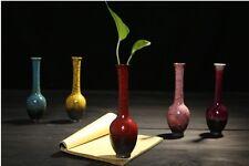 Modern Flower Vase 18.5x6cm Ceramic living room Furnishings Home Office Decor
