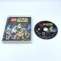 LEGO Star Wars: The Complete Saga (PlayStation 3 - PS3) No Manual