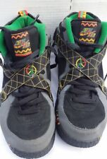 uk availability f954f 796cc Mens Nike Air Raid Urban Jungle Shoes Black Gray Pine Peace 642330-003 Size  10.5
