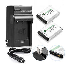 2x EN-EL19 Battery + Charger For Nikon Coolpix S33 S3700 S3500 S4300 S6500 S7000
