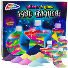 Sand Art Glitter Glow In The Dark Bottle Make Your Own Colourful Activity