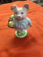 "Beatrix Potter's ""Little Pig Robinson"" Figurine  F. Warne & Co. Ltd Beswick 1948"