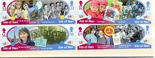 Isle of Man -Girl Guides set of 8 mnh (2010)