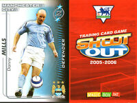 SHOOT OUT FOOTBALL CARD 2005 - 2006 MANCHESTER CITY DANNY MILLS