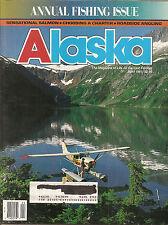 Alaska Mag  - April 1991 - Annual Fishing Issue - Salmon - Charter - Angling