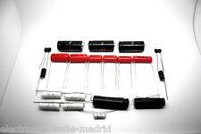 CAPACITOR KIT FOR FENDER BANDMASTER 5E7 MODEL TUBE AMP - AMPLIFIER
