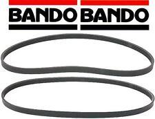 Mazda Miata Pair Fan Belt Set W/ P/S and A/C 1994-1997 BANDO 4PK945B / 4PK890B