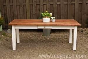 Tisch Esstisch Massiv Landhaus Esszimmer 250 cm M04 shabby antik matt lackiert