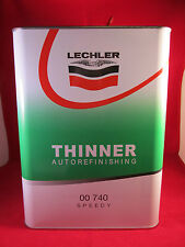 Lechler 2K Speedy Thinner 740 5lt