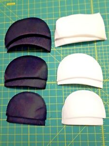 Shoulder Pads - Black and White - Sm/Med//Large Sold in pairs Free Post