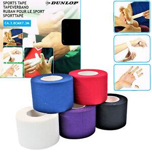 Dunlop Tapeverband Sportler Tape Sporttape Physiotape Kinesiologietape 5 Farben