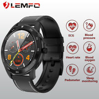 LEMFO DT98 smart watch monitor ECG heart rate blood pressure for Android iOS