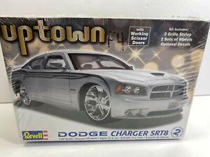 Revell 1:25 Scale Dodge Charger SRT8 Uptown Lowrider Scissor Doors Model Kit NoR