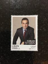 Lebanon august 2017 Carlos Ghosn MNH Stamp