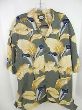 Tommy Bahama Hawaiian Camp Button Men's Sz. Large