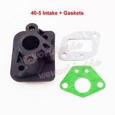 Intake Inlet Manifold Gaskets For 33cc 43cc 49cc Scooter Cat Eye Pocket Bike