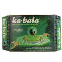 1960's Ka Bala Fortune Teller Board Game -VTG Glow in Dark 1967- Missing pieces