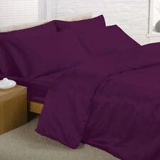Linge de lit et ensembles noirs en satin pour chambre à coucher