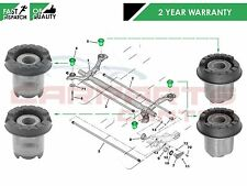 FOR PEUGEOT 206 1998- REAR SUBFRAME AXLE FRONT REAR MOUNTING BUSH BUSHES SET