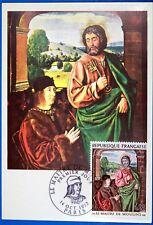 LE MAITRE DE MOULINS   FRANCE CPA Carte Postale Maximum Yt 1732 GF