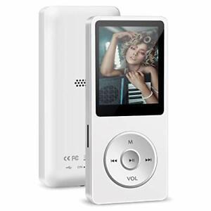 MP3 Player Wodgreat Kinder MP3 Player mit 32GB SD Karte Verlustfreier Sound M...