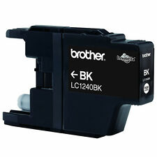 Brother LC1240BK schwarz black seperate Tintenpatrone 600 Seiten TOP NEU