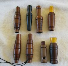 Vintage Estate Lot of 8 Duck Calls