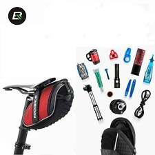 ROCKBROS Bicycle Bag Rainproof Saddle Bag Reflective Rear Seatpost Bike Bag Red