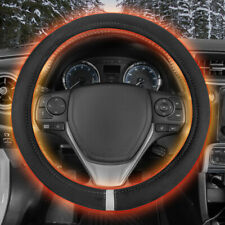 Motor Trend WarmDrive 12v Heated Steering Wheel Cover - DC Powered Hand Warmer
