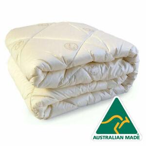 Puradown Australian Wool Made 500gsm Doona|Duvet| Quilt KING|QUEEN|DOUBLE|SINGLE