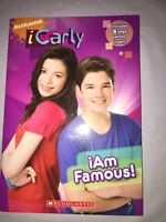 ICarly: I Am Famous! by Laurie McElroy (2009, Paperback)