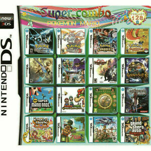 Nintendo DS Game Cartridge Video Game Card DS NDSL NDSi 2DS 3DS 3DSLL 208 in 1