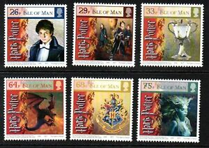 Isle of Man Stamps 2005  SG 1258-1263 Harry Potter the Goblet of Fire  Mint MNH