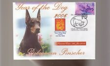 DOBERMAN PINSCHER 2006 YEAR OF THE DOG STAMP COVER 4