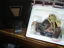 Star Wars Gentle Giant Bust COA Limited Kit Fisto #20/1550