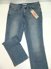 Fit 33x29 New Levi's 505 Straight Stonewashed Denim Blue Jeans Tag 14 S