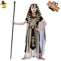 CK464 Egyptian Boys Roman Pharaoh King Of The Nile Fancy Dress Book Week Costume