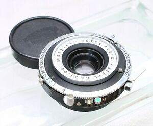 BOYER PARIS BERYL 90MM F/6.8 WIDE ANGLE LARGE FORMAT LENS No. 619184
