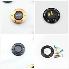 Durable Housing With Real Carbon Fiber Basecoat Car Steering Wheel Horn ButtonX1