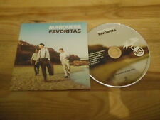 CD Ethno Marquess - Favoritas (6 Song) Promo SONY STARWATCH cb