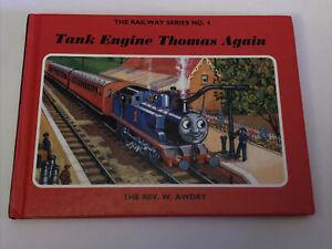The Railway Series No. 4 TANK ENGINE THOMAS AGAIN By Rev. W. Awdry. Hardback