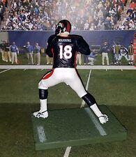 Custom P. Manning #18 QB Den Broncos Mcfarlane figure